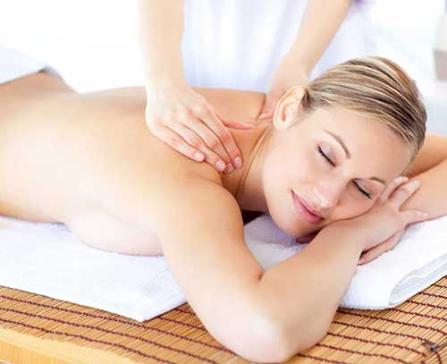 massage femme musculaire