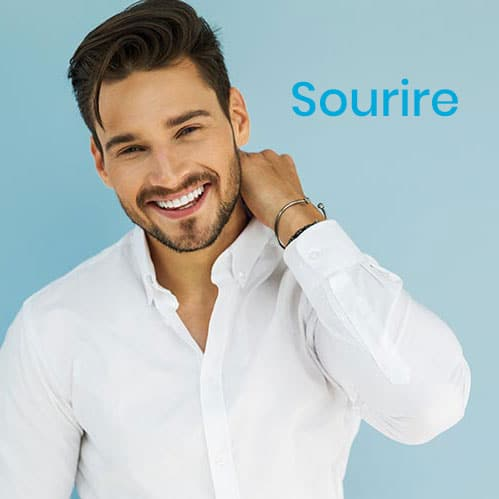sourire blancheur homme
