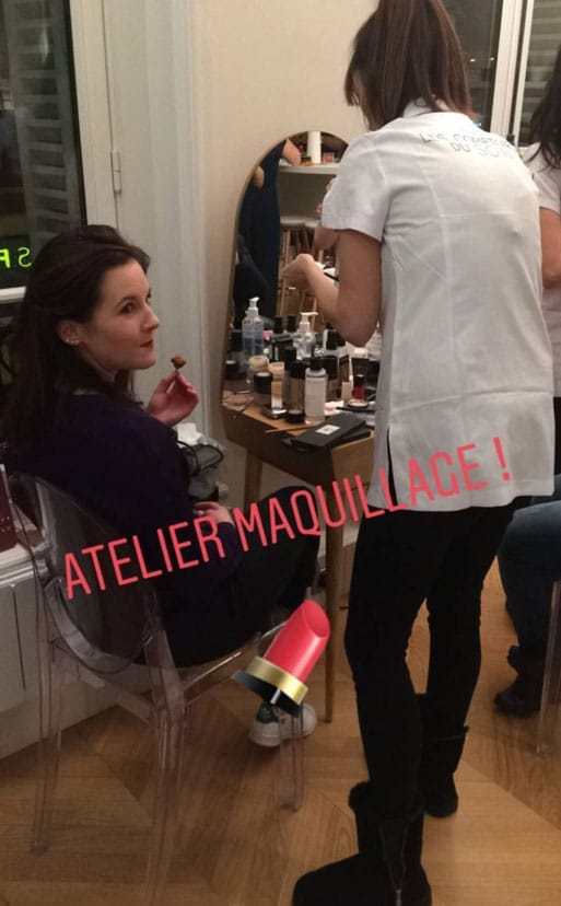 atelier maquillage appartement morgan